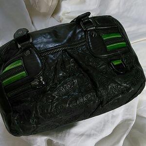 L. A. M. B. Black handbag